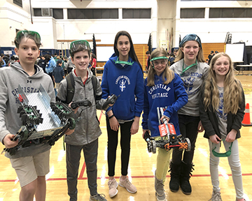 CHS Sends Young Engineers to VEX Robotics Tournament Image